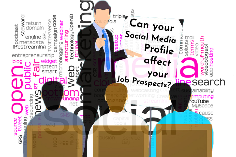Your social media profile affect your job