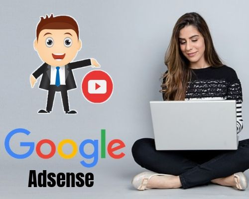 YouTuber earn cash using Google Adsense